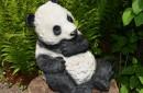 Panda-beeld-als-tuinbeeld-zijkant