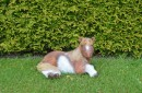 Tuinbeeld-paard-liggend