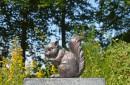 eekhoorn-bronslook-beeld