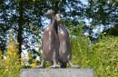 eenden-bronslook-beeld