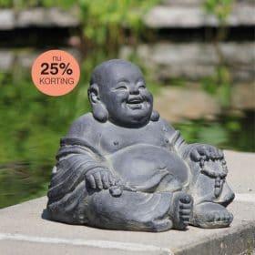 Blije Boeddha / Happy Boeddha 26cm