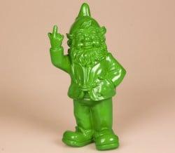 Kabouter-middelvinger-Fck-you-lime-groen