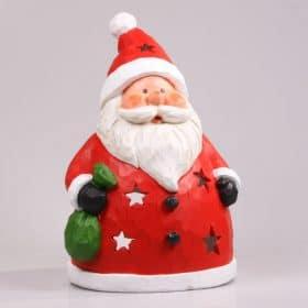 Kerstdecoratie-2015-kerstman-kaars