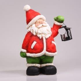 Kerstdecoratie-2015-kerstman-met-lantaarn-kaars
