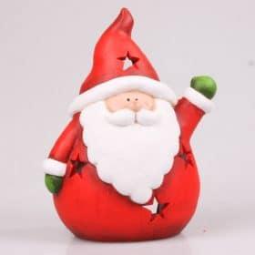 Kerstdecoratie-2015-kerstman-zwaaiend-kaars