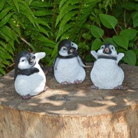 Tuinbeeld-setje-pinguins