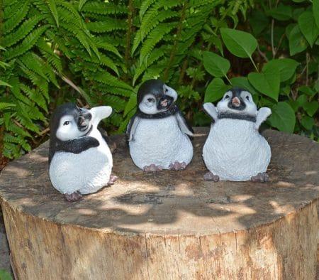 Tuinbeeld-setje-pinguins