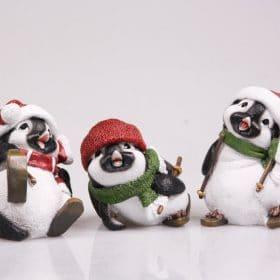set-pinguïn-beeldjes-grappig