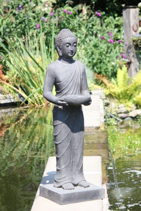 Tuinbeeld Boeddha staand