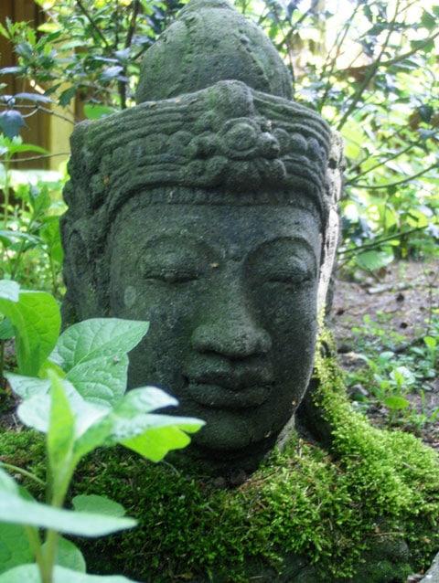 Tuindoek boeddha hoofd - GerichteKeuze