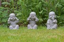 Boeddha horen zien zwijgen
