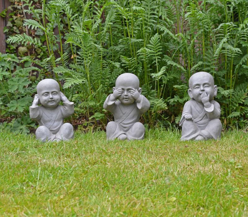 Boeddha Beelden Voor De Tuin.Boeddha S Horen Zien Zwijgen Gerichtekeuze