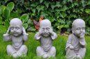 boeddhas horen zien zwijgen