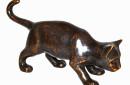 AN0017BR-BI-bronzen-poes-beeld-zijkant