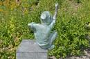 Bronzen tuinbeeld moritz