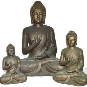 Boeddha-Gerechtigheid-brons-look-overzicht