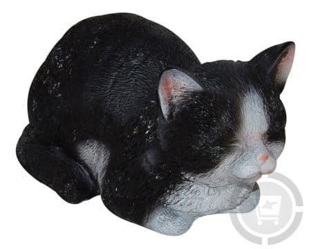 beeld-slapende-poesje-zwart