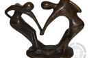 Abstract-bronzen-beeld-danspaar-achterzijde