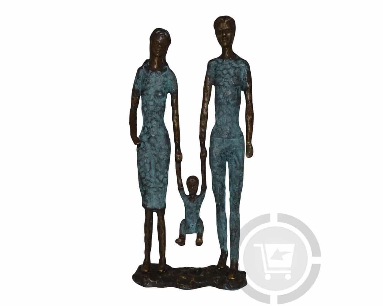 Bronzen beeld moderne familie kopen gerichtekeuze for Beeld tuin modern