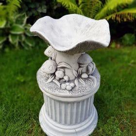 Vogel waterbak beton
