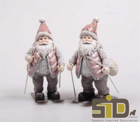 Kerstman beeldjes