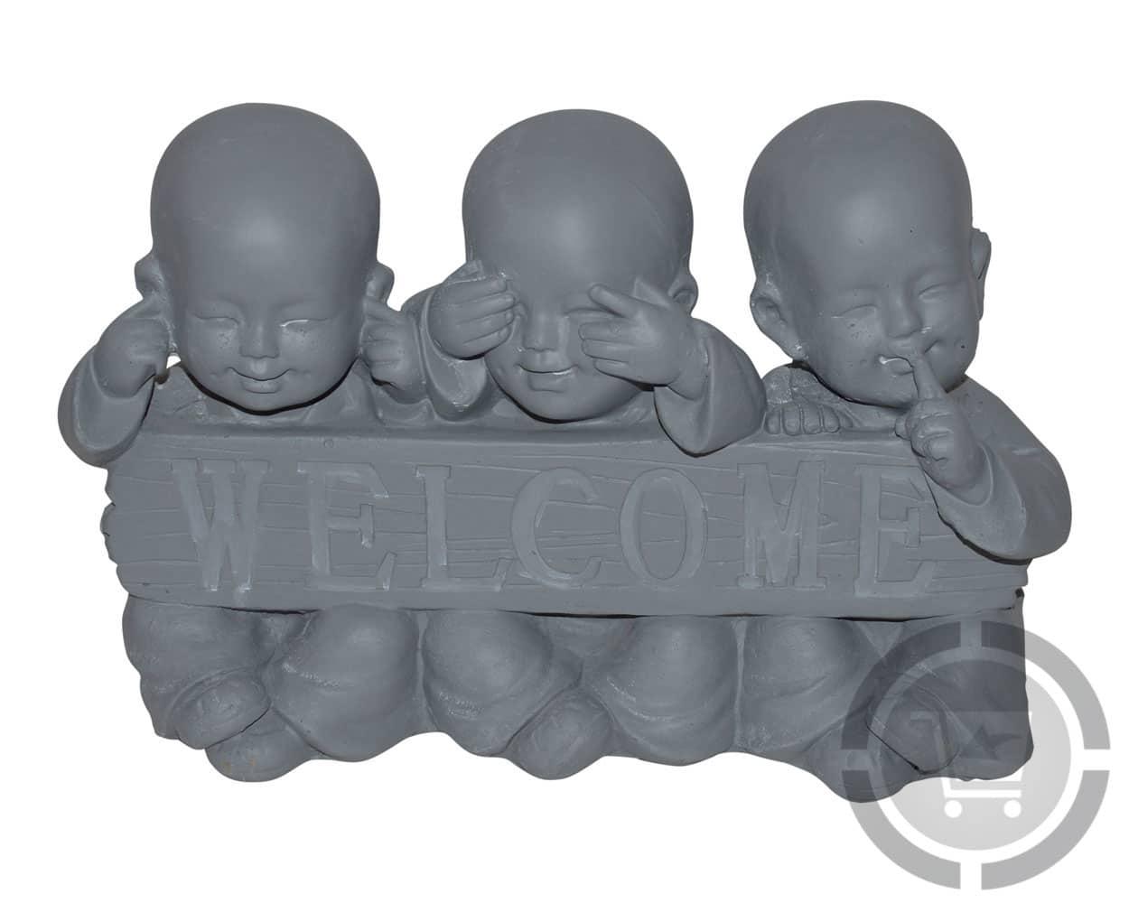 horen zien en zwijgen monnikjes beeldjes te koop