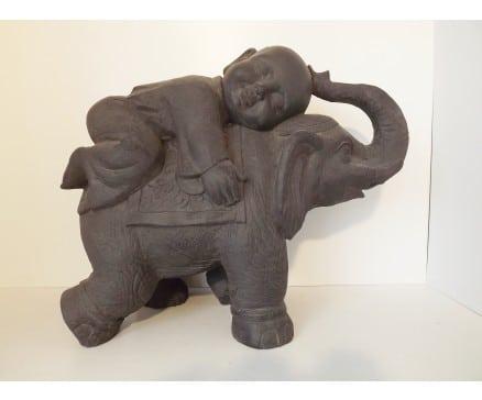 shaolin monnik op olifant