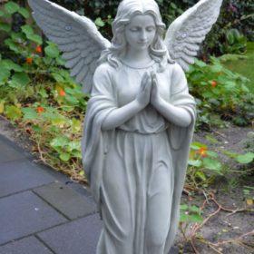 biddende engel wit