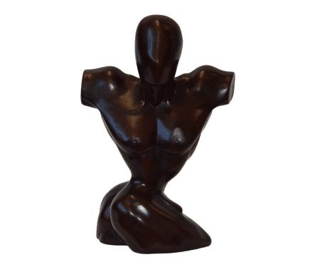 Borstbeeld man