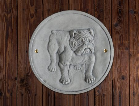 Wandplaat Bulldog