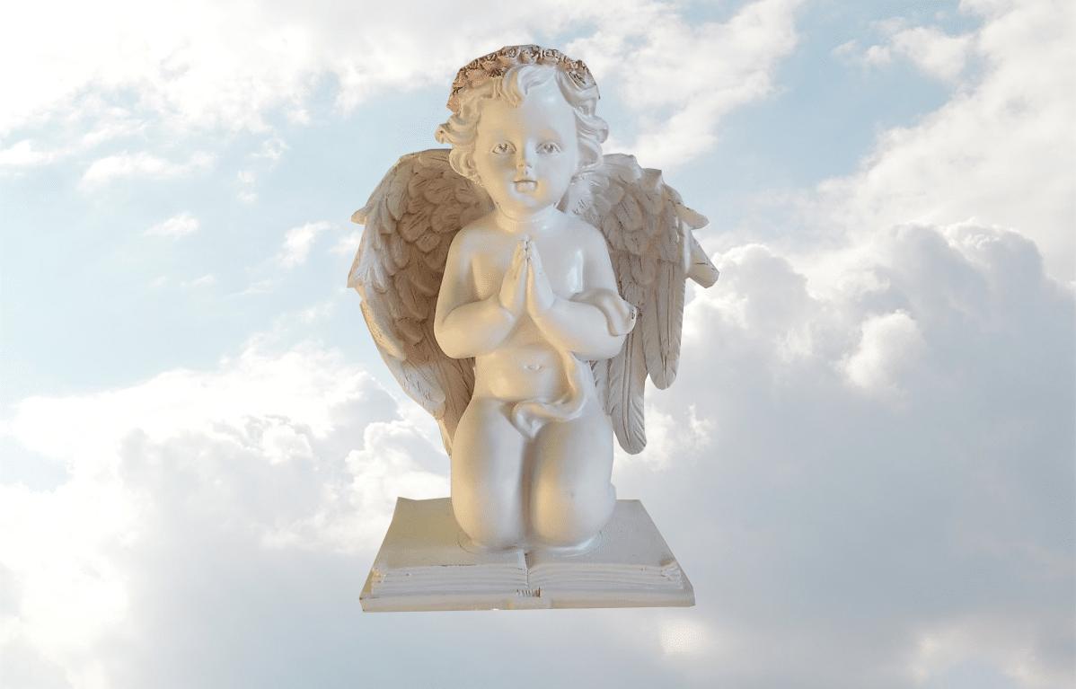 Bronzen Engelen Beelden.Engel Op Boek