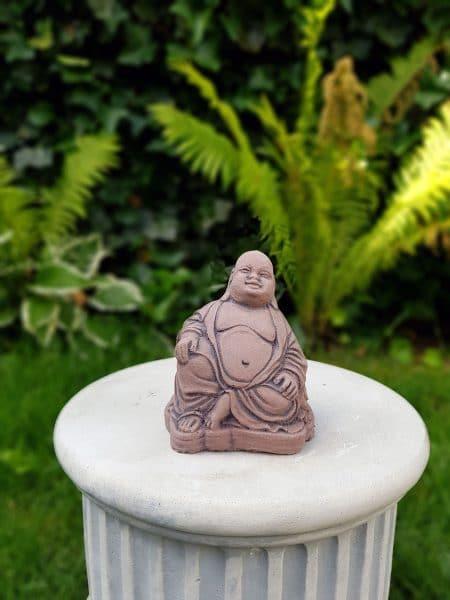 Happy Boeddha klein beton