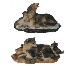 wolf met jongen
