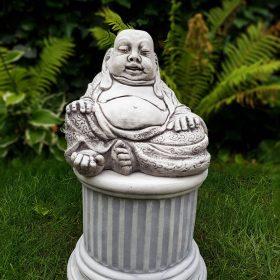 Betonnen Happy Boeddha