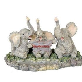 olifanten welkomstbord