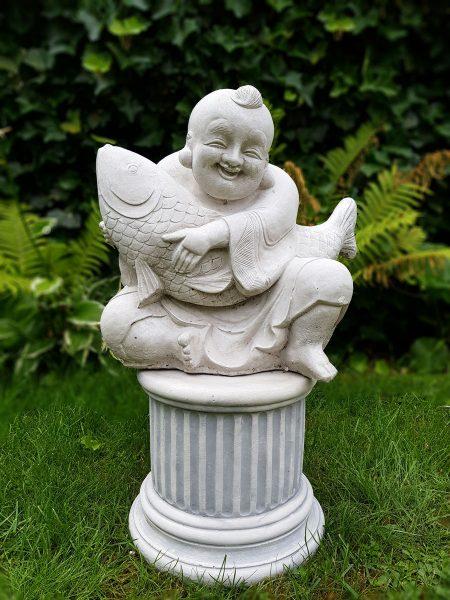 Boeddha met vis