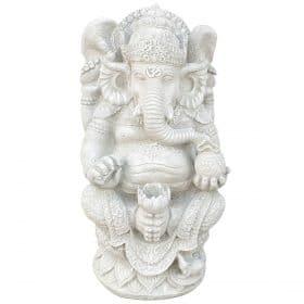 Ganesha met bloem