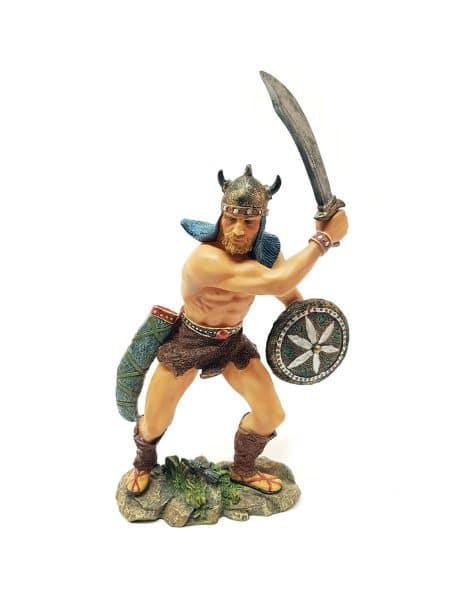 Viking met zwaard