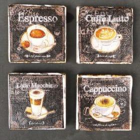 Onderzetters koffie