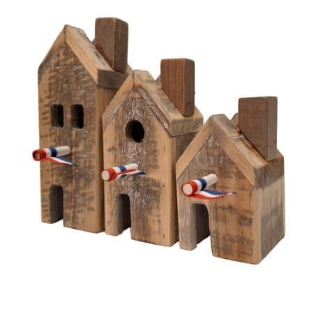 Decoratieve huisjes