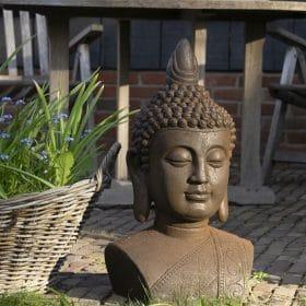 Tuinbeeld-thais-boeddhahoofd