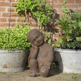 Shaolin-boeddha-beeld-rustend-40cm