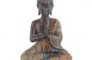 thaise boeddha groen 23 cm
