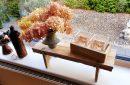 vensterbank bankje houten bankje-58centimeter