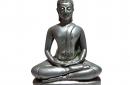 Boeddha-zilver-in-lotushouding-17cm