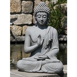 Boeddhabeeld geruststelling